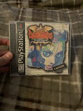 Darkstalkers The Night Warriors Sony PlayStation 1 Ps1 Fighters Edge Tested