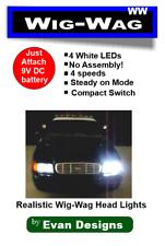 Wig Wag Headlights Alternating Flashing Circuit for Emergency Vehicles, 4 LEDs!