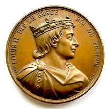 FRANCE LOUIS II DIT LE BEGUE BRONZE MEDAL