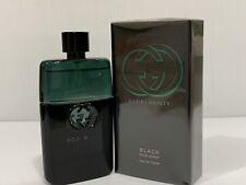 GUCCI GUILTY BLACK POUR HOMME MEN COLOGNE EDT SPRAY 3.0 oz 90 ML SEALED IN BOX
