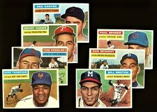 1956 Topps Baseball: Choose Your Card #150 to #330  ***UPDATED 09/02/2021***