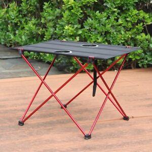 Portable Table Folding Picnic Outdoor Desk Lightweight Aluminum Waterproof