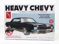 1970 Chevy Impala Heavy Chevy AMT 895 1/25 New Car Plastic Model Kit