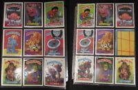 GARBAGE PAIL KIDS lot card 17 TOTAL Sticker Trading rare vintage 1987 NICE!