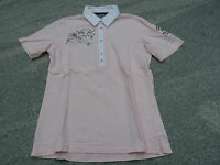 Stanfield Polo Shirt rosa mit Stickerei Gr. S /  M