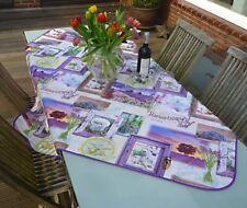 Tischdecke Provence 130x150 cm flieder Lavendelmotive, Frankreich, pflegeleicht