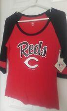 New CINCINNATI REDS Baseball Jersey ladies womens SHIRT Small
