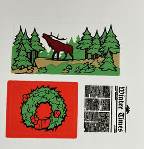 Custom Replacement Stickers for 10229 Winter Village Cottage