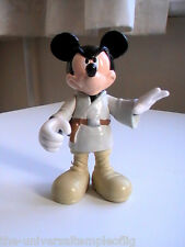 mickey mouse luke skywalker toy jedi starwars disney collectable figure RARE OLD