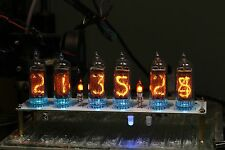 No Tubes - IN-14 NIXIE TUBE CLOCK WITH REMOTE AND ALARM 100% Soldered