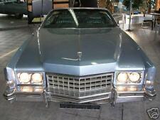 Cadillac Eldorado Cabrio Verdeck Einbau Anleitung EBA