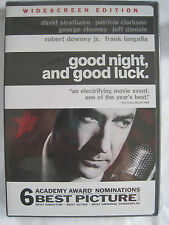 GOOD NIGHT AND GOOD LUCK DVD - WIDESCREEN - BRAND NEW DVD