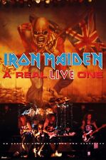 IRON MAIDEN 1993 A REAL LIVE ONE RARE PROMO POSTER ORIGINAL