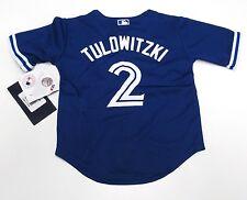 Toronto Blue Jays Toddler Kids 4T Jersey Cool Base Troy Tulowitzki Alternate 3rd