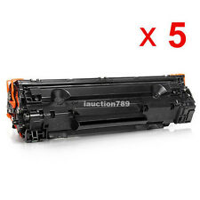 5 x toner for HP CB435A HP LaserJet P1005 HP LaserJet P1006