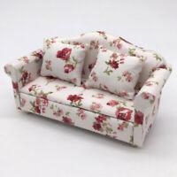 DIY 1:12 Puppenhaus Couch Sofa Stuhl Kissen Set Miniatur-Möbel Modell Spielzeug