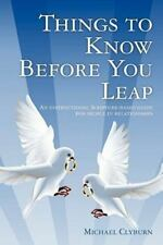 Things to Know Before You Leap : An Instructional Scripture-Based Guide for...