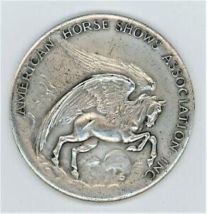 AMERICAN HORSE SHOWS ASSOCIATION INC. HARRISBURG HORSE SHO1948 SADDLE HORSE SEAT