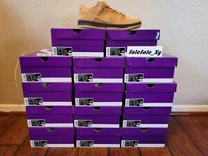 IN HAND Nike SB Dunk Low Pro Wheat Flax Size 8-13 BQ6817-204 BRAND NEW