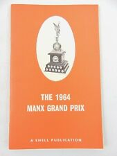 Rare Shell Publications The Manx Grand Prix 1964 Supplement Booklet - Superbikes