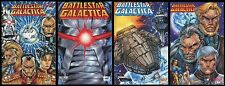 Battlestar Galactica Comic Full Set 1 2 3 4 Lot Cylon Raider Viper Maximum Press