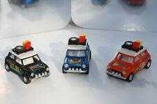 Mini Cooper Rally 3 modelli 1/43 perfetti