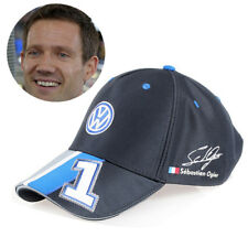 #1 OFFICIAL SEBASTIEN OGIER VW WRC PODIUM BASEBALL CAP CHAMPION SIGNATURE HAT