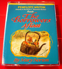 Mary Norton The Borrowers Afloat 2-Tape Audio Book Penelope Wilton