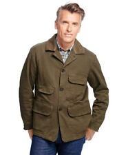 Men's Brooks Brothers & Beretta Cotton Hunting/Field Jacket Large L hunter green