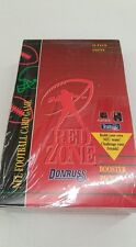 Red Zone NFL Football Card Game Booster Pack Box SEALED!!!
