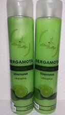2 SHAMPOO BERGAMOTA & KERATINA.  STOP HAIR LOSS & STIMULATE GROWTH 16.2 FL OZ EA