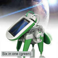 3 in 1/6 in 1 Educational DIY Solar Robot Kit Tank Airplane Windmill Car Models