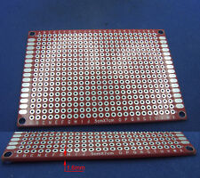 5PCS Red 50 X 70 X 1.6MM Double Side Printed Circuit Board Blank PCB Soldering