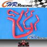 Silicone Radiator Hose Kit for Honda Civic B Series Type R DC2 EK4 EK9 B16A/B