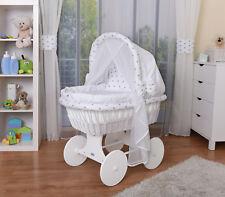 Waldin Bébé Chariot Enfants,Couchette Bébé,Complet avec Accessoires,Tissus