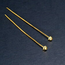 HANDMADE 22K SOLID GOLD HAT HEAD PIN from THAILAND