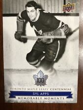 2017 Ud Toronto Maple Leafs Centennial Collection #170 Syl Apps