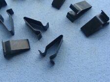 30x Blech Klemme Metall Halterklammern Steckklammer schwarz 320