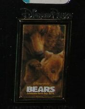 Disney Pin Bears Celebrate Earth Day 2014 Nature Poster Logo CARD LE LAST ONE