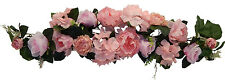 "35"" SWAG ~ PINK ~ Centerpiece Silk Wedding Flowers Roses Gazebo Arch Decoration"