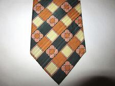100% Silk Pierre Cardin Vintage Chic Luxury Mens Colorful Necktie Fun