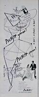 PUBLICITÉ DE PRESSE 1955 PSCHITT CITRON OU ORANGE PERRIER AVEC BRIGITTE BARDOT