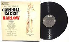 JOSEPH E. LEVINE / CARROLL BAKER Harlow Soundtrack LP COLUMBIA OL6390 2EYE NM