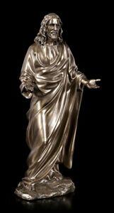Jesus Figur als Prediger - Christus Statue Veronese Bronze-Optik