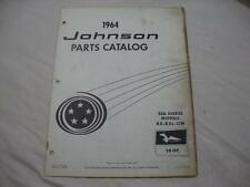 Johnson outboard parts catalog manual 1964 Sea Horse 28 HP RX RXL 12M 380048