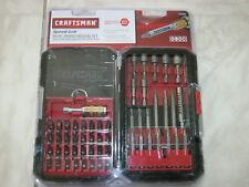 "Speed Lok Craftsman 54 pc Power Driving set 1/4"" speed shank"