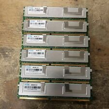 Lot of 6 Edge Corp. Server Workstation 24GB 6 x 4GB Memory RAM Set DDR2 SDRAM