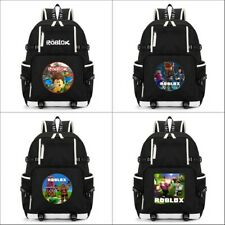Game Roblox Cartoon Backpack Laptop Travel Shoulder Bag School Bag Knapsack
