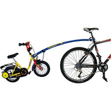 Children's Tandem Trailgator Tow Bar Bicycle Tricycle Trailer Safe Attachment