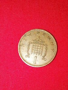 RARE 1p 1971 NEW PENCE  One Penny Coin